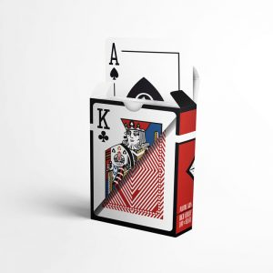 Тесте Рубин - карти за игра на покер от 100% Plastic, водоустойчиви