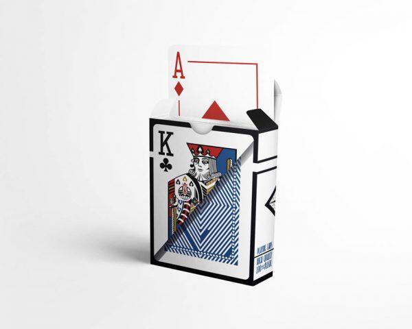 Тесте Сапфир - карти за игра от 100% Plastic, водоустойчиви